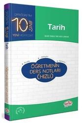 Editör Yayınevi - 10. Sınıf Tarih Öğretmenin Ders Notları Editör Yayınları (Hızlı)