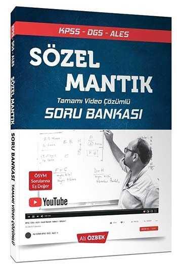 2020 KPSS DGS ALES Sözel Mantık Tamamı Video Çözümlü Soru Bankası Ali Özbek