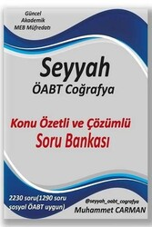 Yazarın Kendi Yayını - 2020 ÖABT SEYYAH Coğrafya Konu Özetli ve Çözümlü Soru Bankası Muhammet Carman