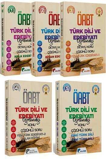 2020 ÖABT Türk Dili ve Edebiyatı Öğretmenliği Konu Anlatımlı Soru Bankası Seti 5 Kitap Yekta Özdil