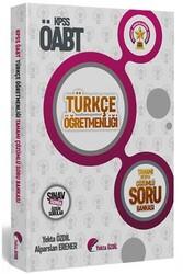 Yekta Özdil - 2020 ÖABT Türkçe Öğretmenliği Tamamı Detaylı Çözümlü Soru Bankası Yekta ÖZDİL