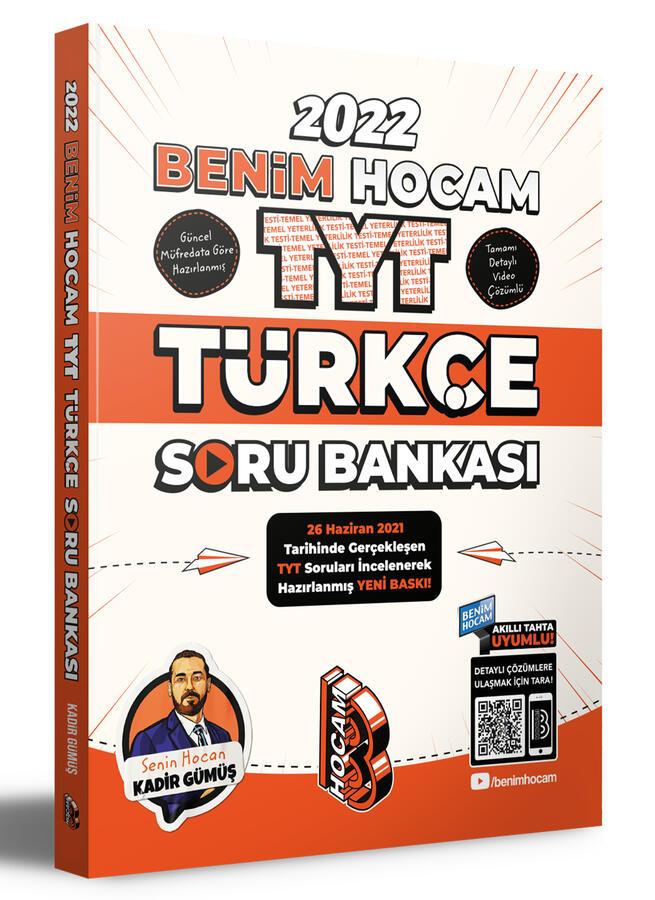 2022 TYT Türkçe Soru Bankası Benim Hocam Yayınları
