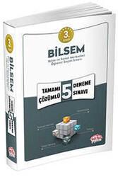 Editör Yayınevi - 3. Sınıf BİLSEM Tamamı Çözümlü 5 Deneme Sınavı Editör Yayınları