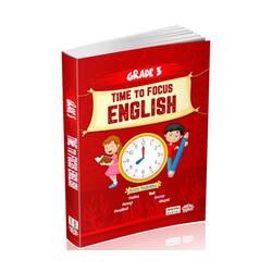 Editör Yayınevi - 3. Sınıf Time to Focus English Editör Yayınları