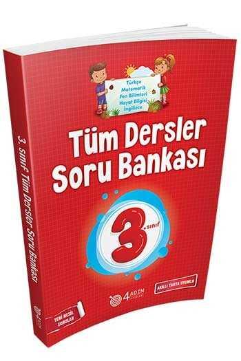 4 Adım Yayıncılık 3. Sınıf Tüm Dersler Soru Bankası