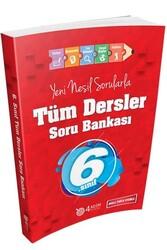 4 Adım Yayınları - 4 Adım Yayıncılık 6. Sınıf Tüm Dersler Soru Bankası