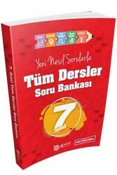 4 Adım Yayınları - 4 Adım Yayıncılık 7. Sınıf Tüm Dersler Soru Bankası