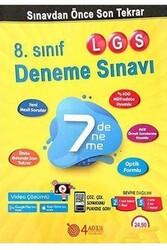 4 Adım Yayınları - 4 Adım Yayıncılık 8. Sınıf LGS 7'li Deneme Sınavı