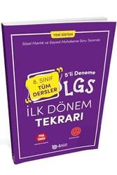 4 Adım Yayıncılık - 4 Adım Yayıncılık 8. Sınıf LGS Tüm Dersler İlk Dönem Tekrarı 5'li Deneme
