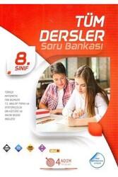 4 Adım Yayınları - 4 Adım Yayıncılık 8. Sınıf Tüm Dersler Soru Bankası