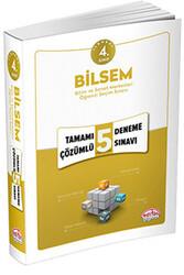 Editör Yayınevi - 4. Sınıf BİLSEM Tamamı Çözümlü 5 Deneme Sınavı Editör Yayınları