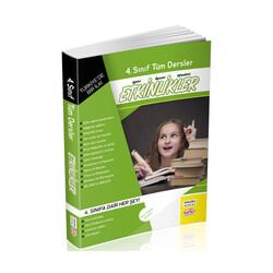 Editör Yayınevi - 4. Sınıf Tüm Dersler Etkinlikler Kitabı Editör Yayınları