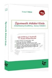 4T Yayınları - 4T Yayınları 2019 Öğretmenlik Mülakat Kitabı