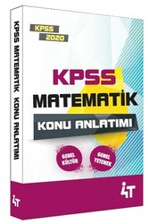 4T Yayınları - 4T Yayınları 2020 KPSS Matematik Konu Anlatımı