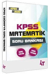 4T Yayınları - 4T Yayınları 2020 KPSS Matematik Soru Bankası