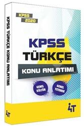 4T Yayınları - 4T Yayınları 2020 KPSS Türkçe Konu Anlatımı