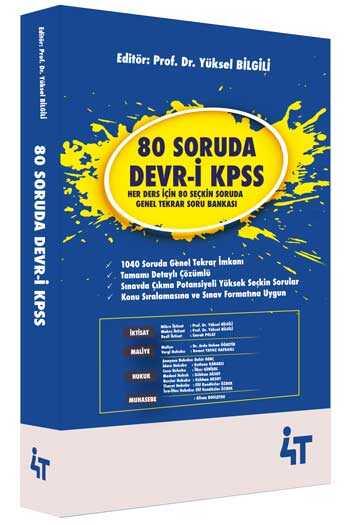 4T Yayınları 80 Soruda Devr-i KPSS