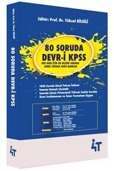 4T Yayınları - 4T Yayınları 80 Soruda Devr-i KPSS