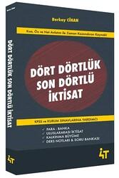 4T Yayınları - 4T Yayınları Dört Dörtlük Son Dörtlü İktisat