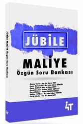 4T Yayınları - 4T Yayınları Jübile Maliye Özgün Soru Bankası