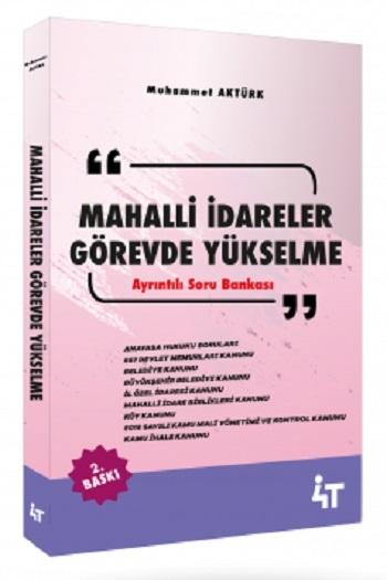 4T Yayınları Mahalli İdareler Görevde Yükselme Ayrıntılı Soru Bankası 2.Baskı