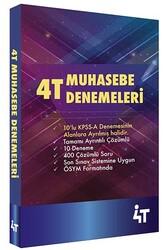 4T Yayınları - 4T Yayınları Muhasebe Denemeleri