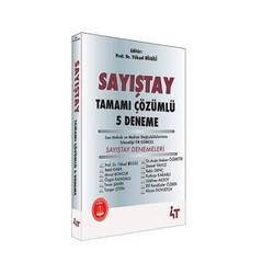 4T Yayınları - 4T Yayınları Sayıştay Tamamı Çözümlü 5 Deneme