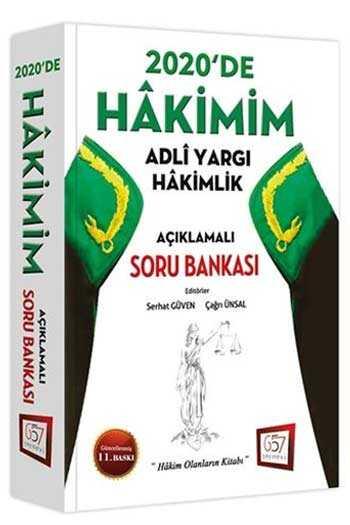657 Yayınları 2020 Hakimim Adli Yargı Hakimlik Açıklamalı Soru Bankası 11. Baskı
