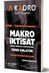 A Kadro Yayınları - A Kadro Yayınları 2019 KPSS A Grubu Makro İktisat Konu Anlatımlı