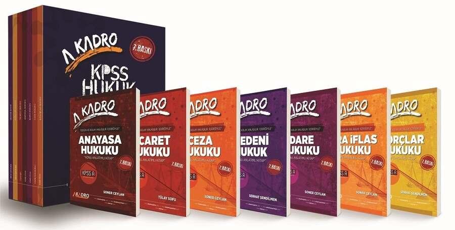 A Kadro Yayınları 2022 KPSS A Grubu Hukuk Konu Anlatımlı Modüler Set 7. Baskı