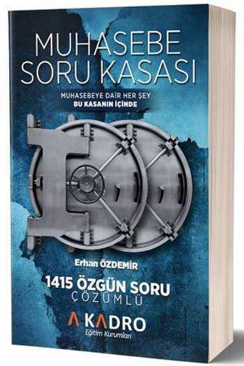A Kadro Yayınları KPSS A Grubu Muhasebe Soru Kasası