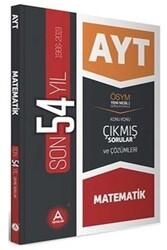 A Yayınları - A Yayınları AYT Matematik Son 54 Yıl Konu Konu Çıkmış Sorular ve Çözümleri