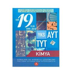 A Yayınları - A Yayınları TYT AYT Kimya Son 19 Yılın Çıkmış Soruları ve Ayrıntılı Çözümleri