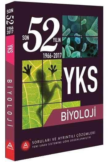 A Yayınları YKS Biyoloji Son 52 Yılın Çıkmış Soruları