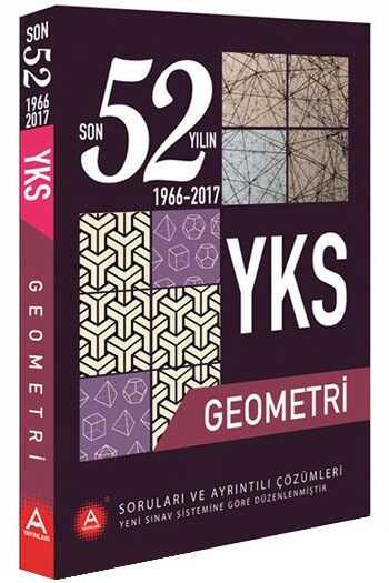 A Yayınları YKS Geometri Son 52 Yılın Çıkmış Soruları