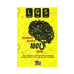 Açı Yayınları - Açı Yayınları 8. Sınıf LGS Çözülmesi Gereken 1001 Soru