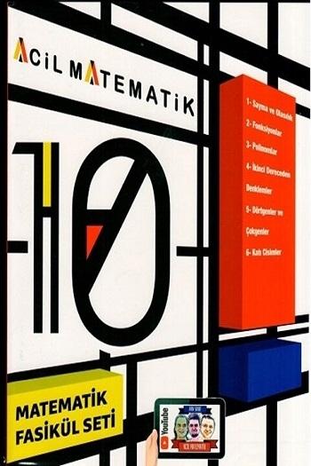 Acil Yayınları 10. Sınıf Acil Matematik 6 lı Fasikül Set