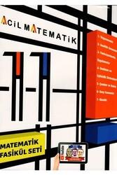 Acil Yayınları - Acil Yayınları 11. Sınıf Acil Matematik 6'lı Fasikül Set