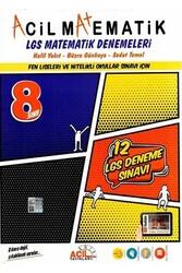 Acil Yayınları - Acil Yayınları 8. Sınıf LGS Acil Matematik 12'li Denemeleri