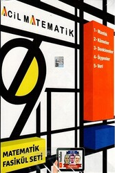 Acil Yayınları - Acil Yayınları 9. Sınıf Acil Matematik 6 lı Fasikül Seti