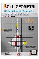 Acil Yayınları - Acil Yayınları TYT AYT Acil Geometri 15 Çözümlü Deneme