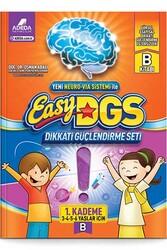 Adeda Yayıncılık - Adeda Yayıncılık Easy Dikkati Güçlendirme Seti 1. Kademe B Kitabı 3-6 Yaş