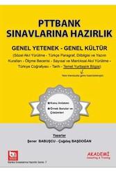 Akademi Consulting ve Training - Akademi Yayınları PTTBANK Sınavlarına Hazırlık Genel Yetenek Genel Kültür Kitabı