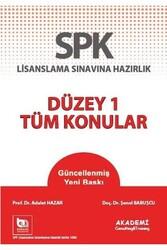 Akademi Consulting ve Training - Akademi Yayınları SPK Düzey 1 Tüm Konular
