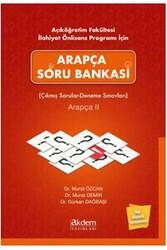 Akdem Yayınları - Akdem Yayınları Arapça Soru Bankası – Çıkmış Sorular – Deneme Sınavları Arapça 2