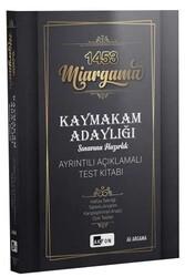 Akfon Yayınları - Akfon Yayınları 1453 Miargama Kaymakam Adaylığı Sınavına Hazırlık Ayrıntılı Açıklamalı Test Kitabı