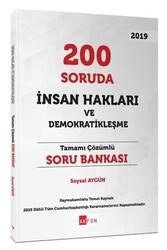 Akfon Yayınları - Akfon Yayınları 200 Soruda İnsan Hakları ve Demokratikleşme Tamamı Çözümlü Soru Bankası