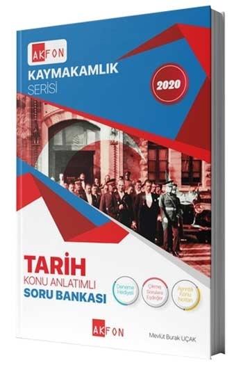 Akfon Yayınları 2020 Kaymakamlık Serisi Tarih Konu Anlatımlı, Soru Bankası