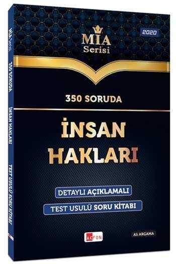 Akfon Yayınları 350 Soruda İnsan Hakları Soru Bankası MİA Serisi