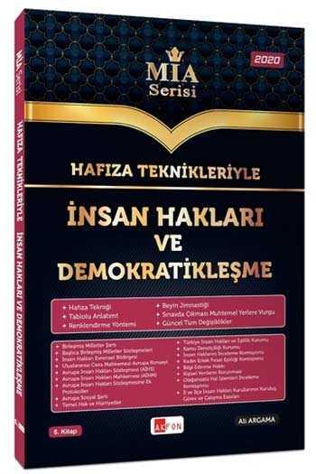 Akfon Yayınları Hafıza Teknikleriyle İnsan Hakları ve Demokratikleşme MİA Serisi